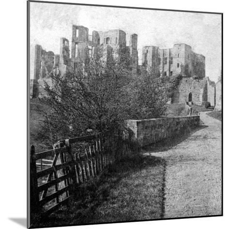 Kenilworth Castle, Warwickshire, Late 19th Century- Lenton-Mounted Giclee Print
