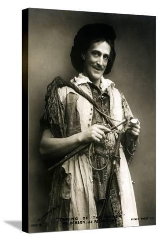 Frank Benson (1858-193), English Actor and Theatre Manager, Early 20th Century-J Caswall Smith-Stretched Canvas Print