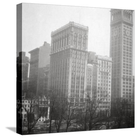 Madison Square, New York City, USA, 20th Century-J Dearden Holmes-Stretched Canvas Print
