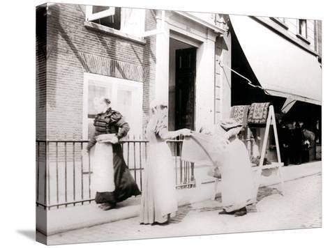Women, Rotterdam, Netherlands, 1898-James Batkin-Stretched Canvas Print