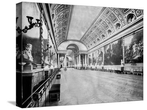 Gallery of Battles, Versailles, France, 1893-John L Stoddard-Stretched Canvas Print