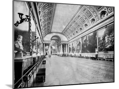 Gallery of Battles, Versailles, France, 1893-John L Stoddard-Mounted Giclee Print