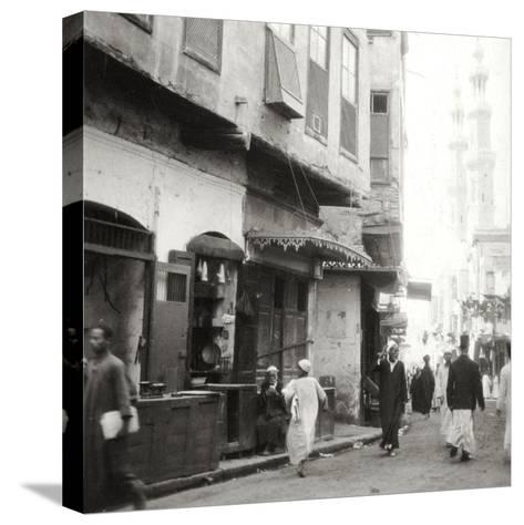 In the Darb-El-Ahmar, Cairo, Egypt, 20th Century-J Dearden Holmes-Stretched Canvas Print