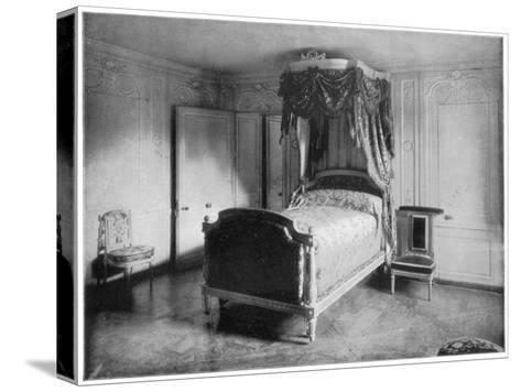 Boudoir of Marie Antoinette, Trianon, Versailles, (Late 19th Centur)-John L Stoddard-Stretched Canvas Print