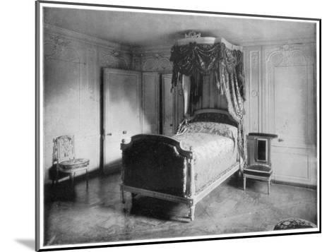 Boudoir of Marie Antoinette, Trianon, Versailles, (Late 19th Centur)-John L Stoddard-Mounted Giclee Print