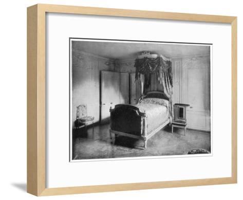 Boudoir of Marie Antoinette, Trianon, Versailles, (Late 19th Centur)-John L Stoddard-Framed Art Print