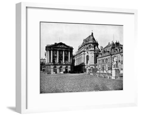 Palace of Versailles, France, 1893-John L Stoddard-Framed Art Print