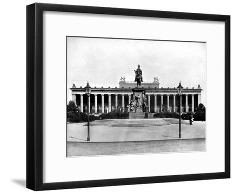The Royal Museum, Berlin, 1893-John L Stoddard-Framed Art Print