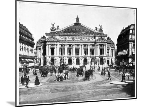 Grand Opera House, Paris, Late 19th Century-John L Stoddard-Mounted Giclee Print