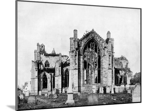 Melrose Abbey, Scotland, 1893-John L Stoddard-Mounted Giclee Print