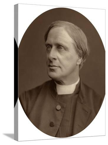 Edward White Benson, Lord Bishop of Truro, 1880-Lock & Whitfield-Stretched Canvas Print