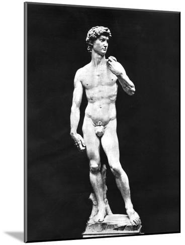 Statue of David, Florence, Italy, 1893-John L Stoddard-Mounted Giclee Print