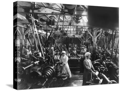 Munitions Factory, London, World War I, 1914-1918- Haua-Stretched Canvas Print