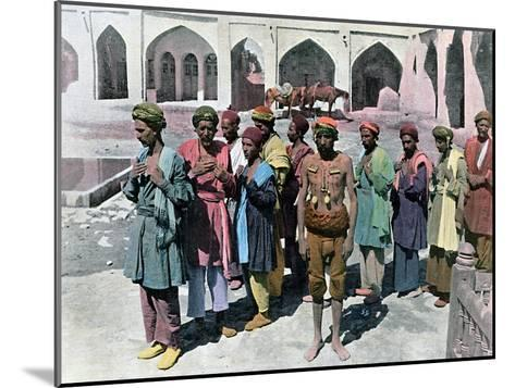 Dervishes and Martyrs, Tehran, C1890- Gillot-Mounted Giclee Print