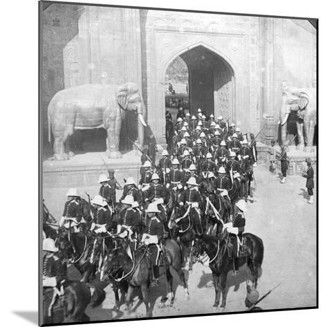 A Procession Passing Through the Delhi Gate, Lahore, Pakistan, 1913-HD Girdwood-Mounted Giclee Print
