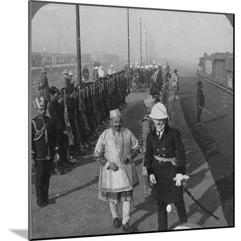 State Arrival of the Maharaja of Benares at Delhi, India, 1912-HD Girdwood-Mounted Giclee Print