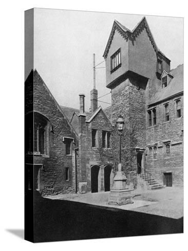 Merton College, Oxford, Oxfordshire, 1924-1926-HN King-Stretched Canvas Print