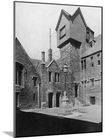 Merton College, Oxford, Oxfordshire, 1924-1926-HN King-Mounted Giclee Print