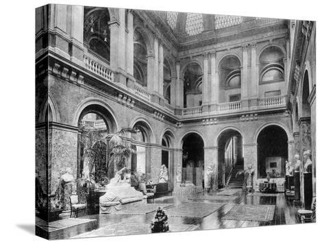 The Great Hall, Bridgewater House, 1908-HN King-Stretched Canvas Print