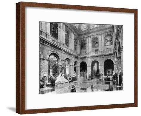 The Great Hall, Bridgewater House, 1908-HN King-Framed Art Print