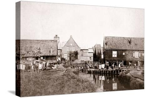 Marken Island, Netherlands, 1898-James Batkin-Stretched Canvas Print