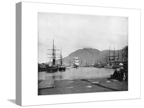 Cape Town, South Africa, Late 19th Century-John L Stoddard-Stretched Canvas Print