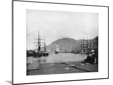 Cape Town, South Africa, Late 19th Century-John L Stoddard-Mounted Giclee Print