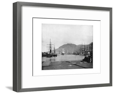 Cape Town, South Africa, Late 19th Century-John L Stoddard-Framed Art Print