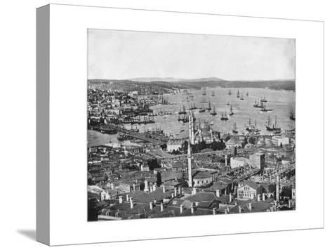 Constantinople and the Bosphorus, Turkey, Late 19th Century-John L Stoddard-Stretched Canvas Print