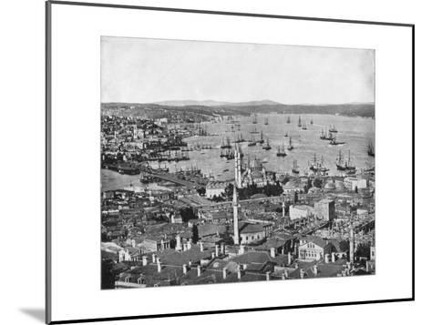 Constantinople and the Bosphorus, Turkey, Late 19th Century-John L Stoddard-Mounted Giclee Print