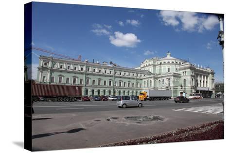 Mariinsky Theatre, St Petersburg, Russia, 2011-Sheldon Marshall-Stretched Canvas Print