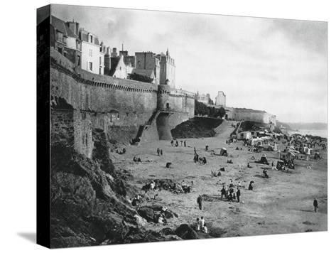 Saint-Malo, France, Brittany, 1937-Martin Hurlimann-Stretched Canvas Print