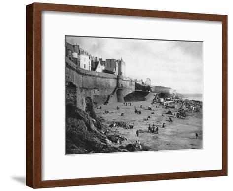 Saint-Malo, France, Brittany, 1937-Martin Hurlimann-Framed Art Print