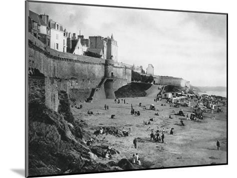 Saint-Malo, France, Brittany, 1937-Martin Hurlimann-Mounted Giclee Print