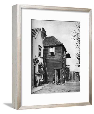 Townsend Yard, Off Highgate High Street, London, 1926-1927-McLeish-Framed Art Print