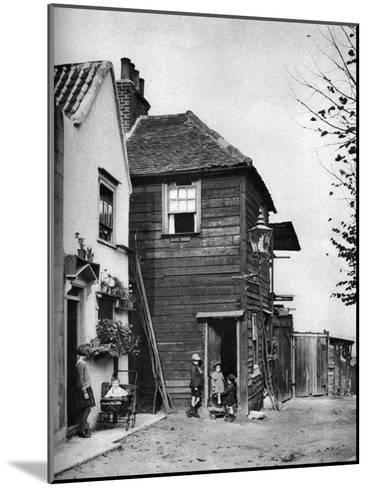 Townsend Yard, Off Highgate High Street, London, 1926-1927-McLeish-Mounted Giclee Print