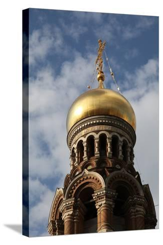 Onion Dome, Church of the Saviour on Blood, St Petersburg, Russia, 2011-Sheldon Marshall-Stretched Canvas Print