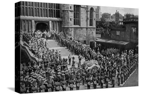 The Funeral of King Edward VII, Windsor, Berkshire, 1910- Swain-Stretched Canvas Print