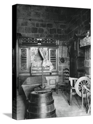 Interior, Dinan, Brittany, France, 1937-Martin Hurlimann-Stretched Canvas Print
