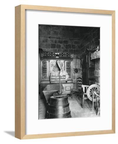 Interior, Dinan, Brittany, France, 1937-Martin Hurlimann-Framed Art Print