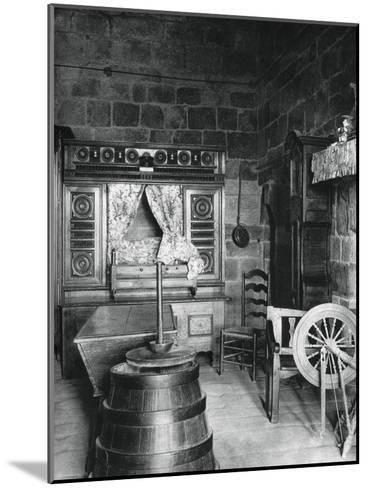 Interior, Dinan, Brittany, France, 1937-Martin Hurlimann-Mounted Giclee Print