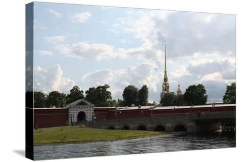 Peter and Paul Fortress, St Petersburg, Russia, 2011-Sheldon Marshall-Stretched Canvas Print