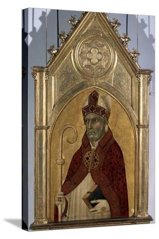 Saint Augustine, 1320S-Simone Martini-Stretched Canvas Print