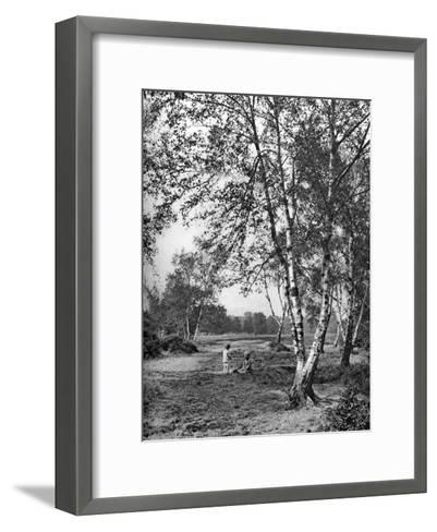 Putney Heath, London, 1926-1927-McLeish-Framed Art Print