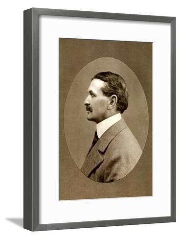 Robert Smythe Hichens, English Journalist and Novelist, 1908-RA Reaks-Framed Art Print
