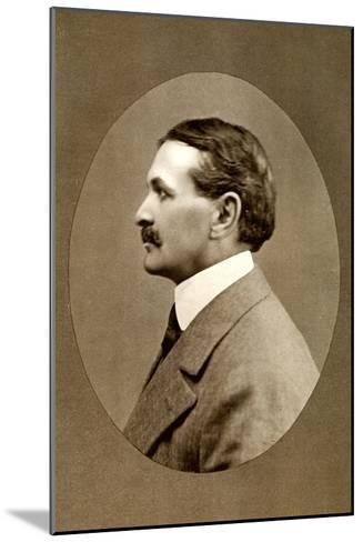 Robert Smythe Hichens, English Journalist and Novelist, 1908-RA Reaks-Mounted Giclee Print