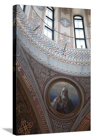 Interior Detail, Uspenski Cathedral, Helsinki, Finland, 2011-Sheldon Marshall-Stretched Canvas Print