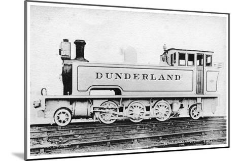 Tank Engine, Steam Locomotive Built by Kerr, Stuart and Co, Early 20th Century-Raphael Tuck-Mounted Giclee Print
