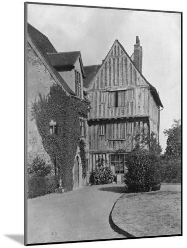 The Tudor Wing, Beeleigh Abbey, Near Maldon, Essex, 1924-1926-RE Thomas-Mounted Giclee Print