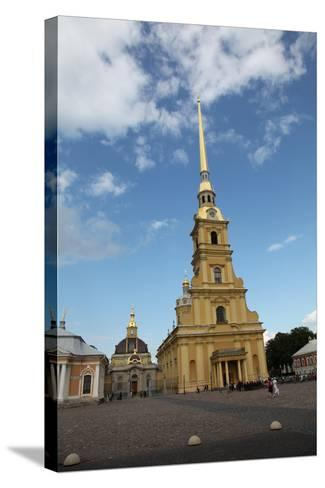 Peter and Paul Cathedral, St Petersburg, Russia, 2011-Sheldon Marshall-Stretched Canvas Print